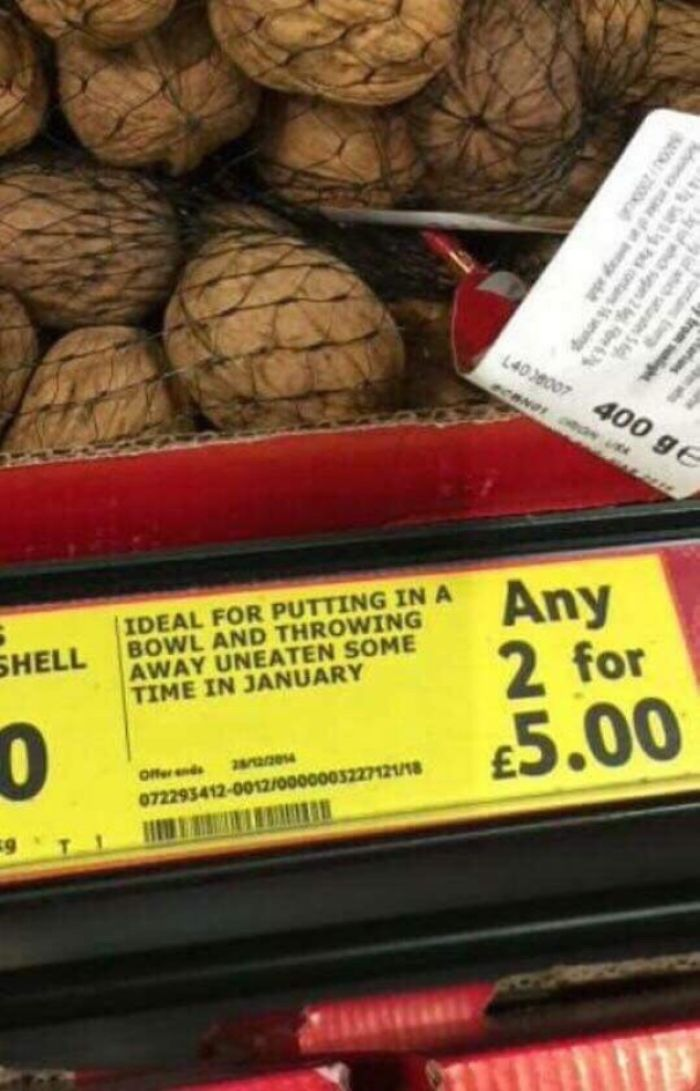 Supermarket Honesty