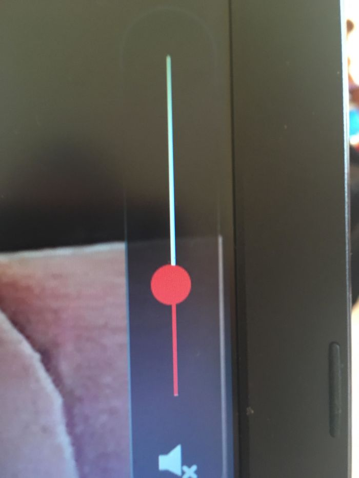 The Circle On The Netflix Volume Control Isn't Centred On The Line