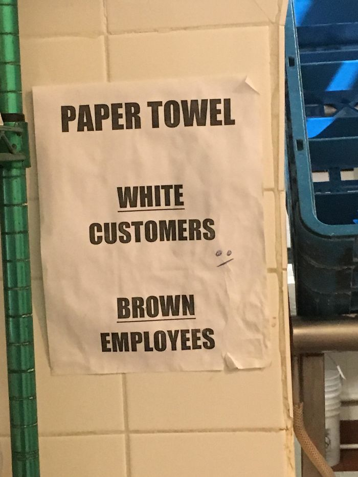 This Paper Towel Sign