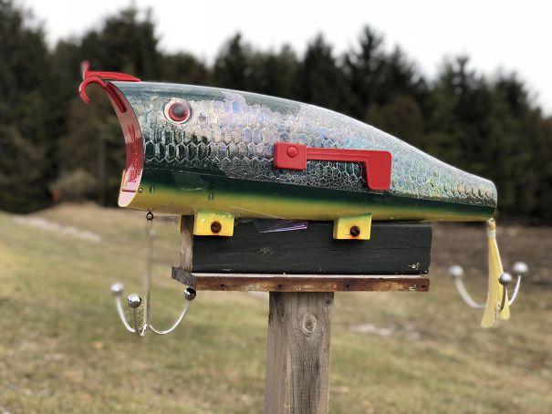 The Fisherman's New Mailbox