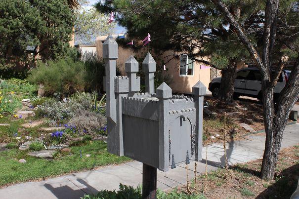 George R. R. Martin's Actual Mailbox