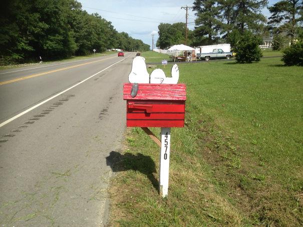 This Cute Mailbox
