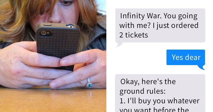 This Guy Set 6 Ground Rules Before Taking His Girlfriend To The Movies, And 300,000+ People Shared And Liked It