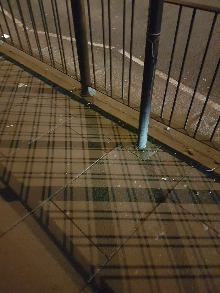 Even The Shadows In Scotland Are Plaid