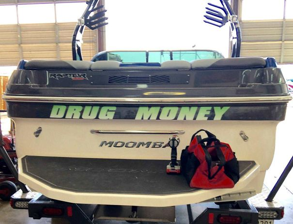 I Work At A Marina, And A Pharmacist Brought His Boat In For Inspection
