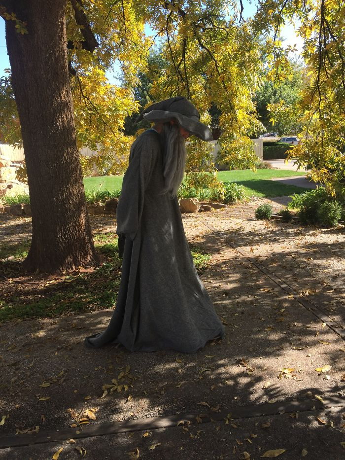 Gandalf Costume I Made For My Husband