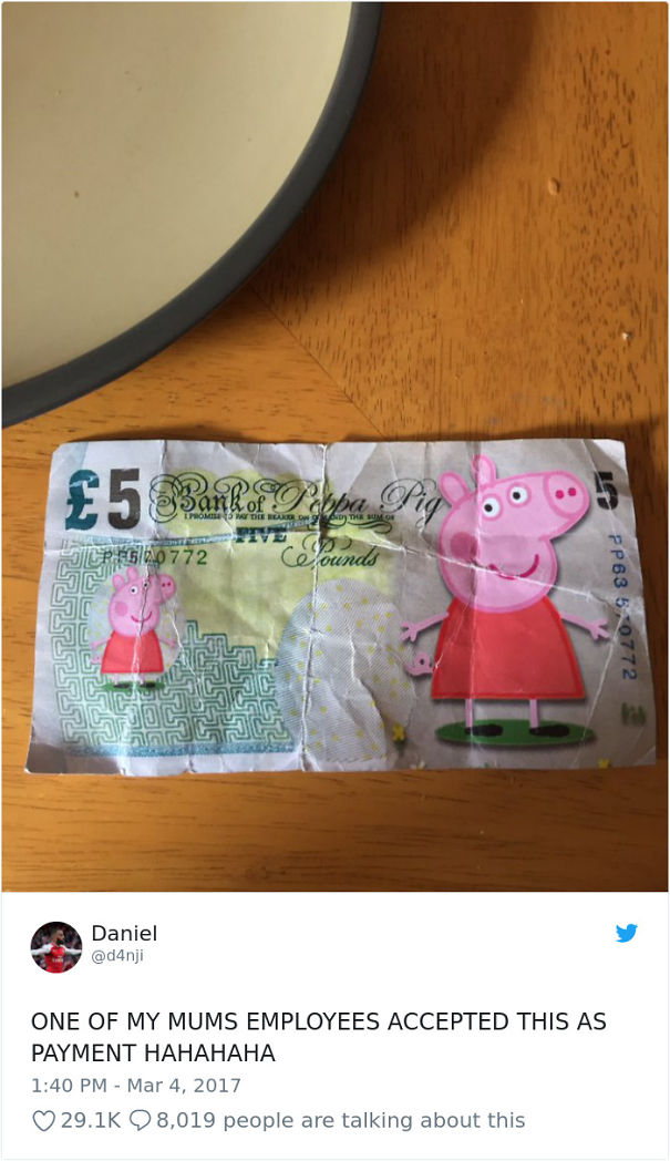 Bank Of Peppa Pig