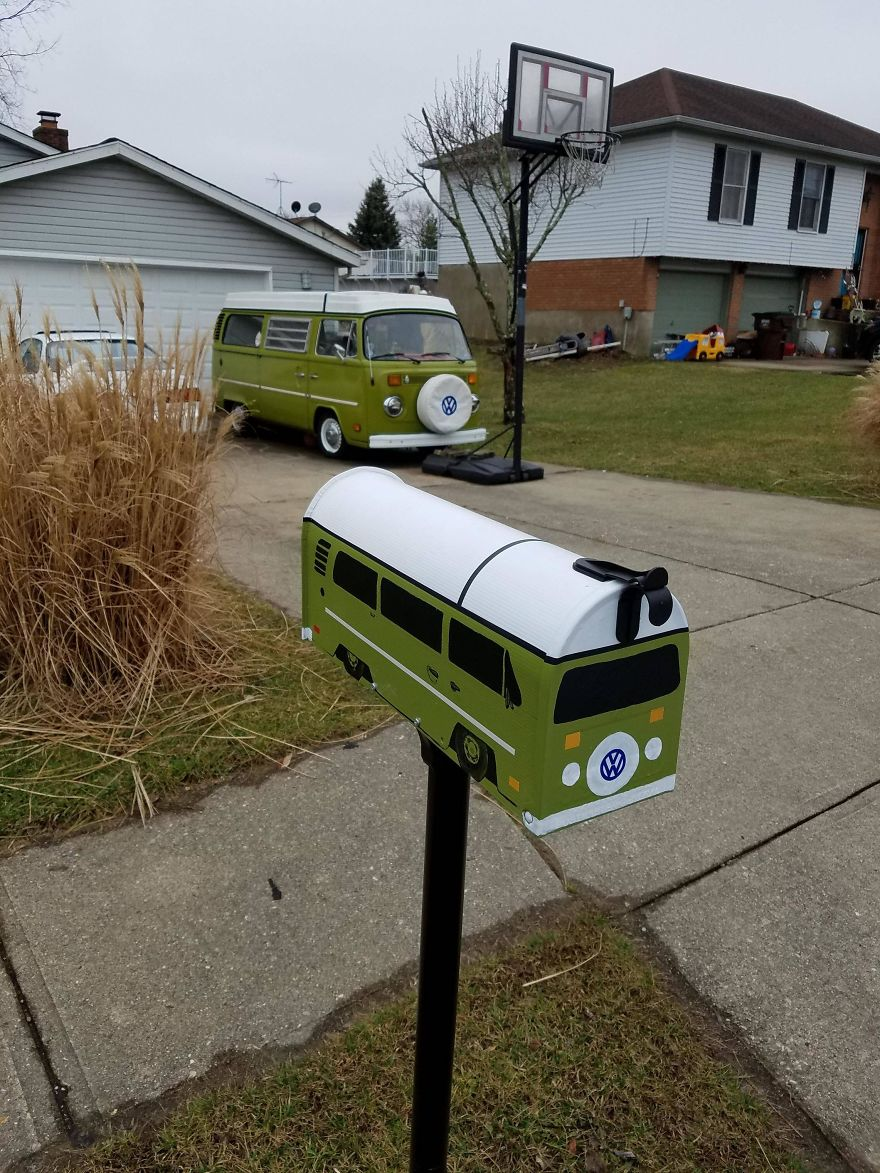30+ Times People Took Their Mailboxes To The Next Level 1