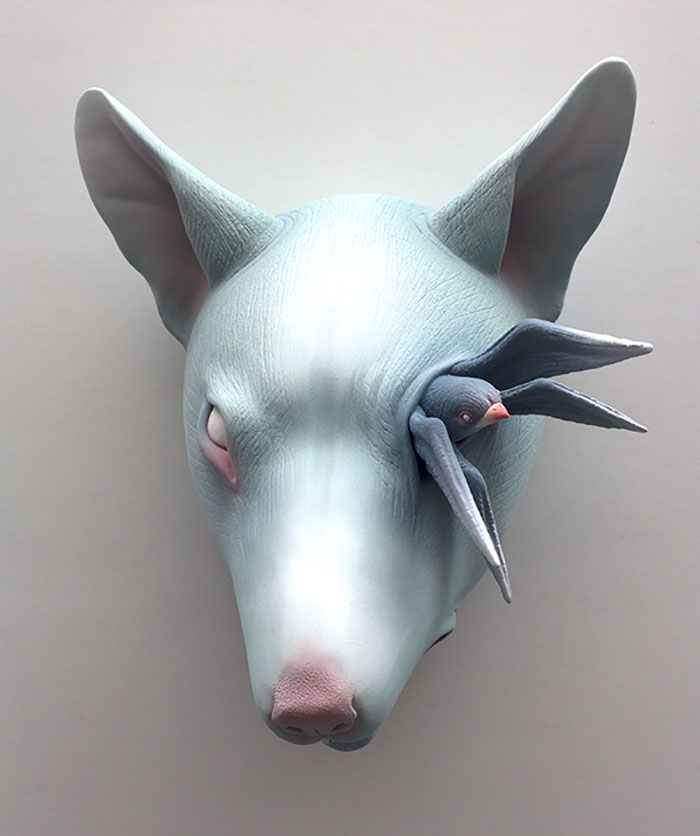 Freaky-Cute-Ceramic-Creatures-Erika-Sculpture