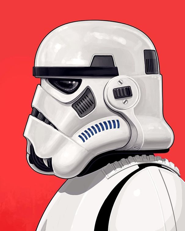 Artist Makes Hyper Detailed Portraits Of Pop Culture Heroes And Villains And The Result Is Incredible