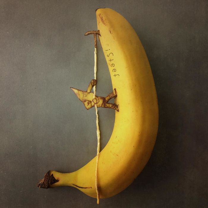 Artist Turns Bananas Into True Works Of Art And The Result Is Incredible