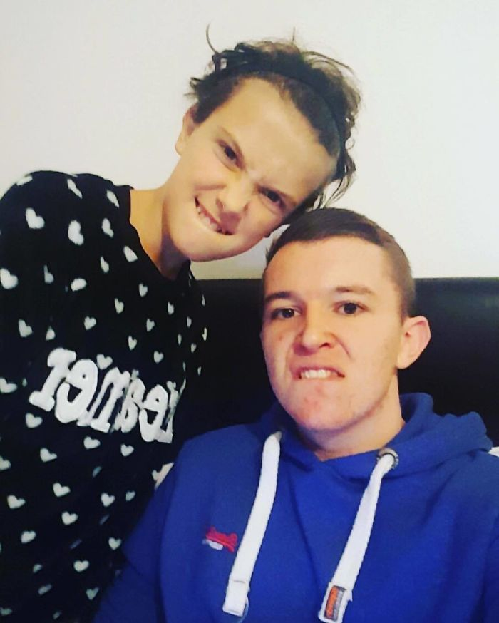Millie Bobby Brown With Her Brother Charlie