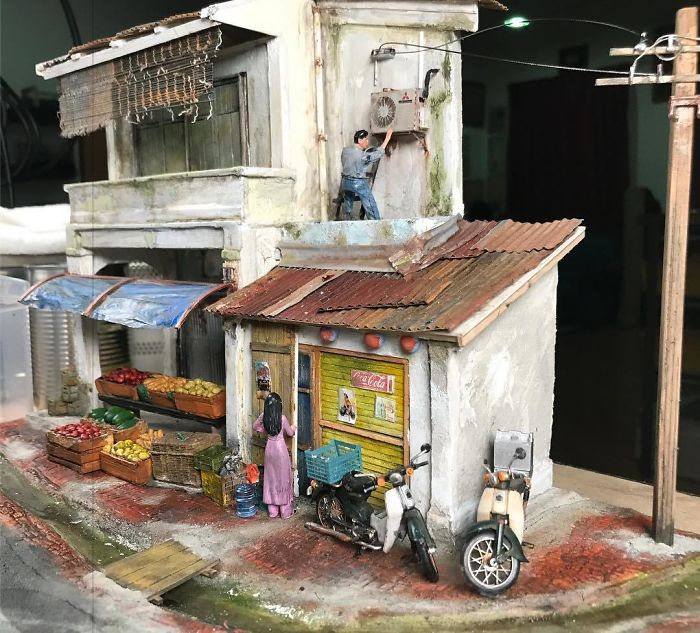 Artist Recreates People's Childhood Memories With Realistic Dioramas, And The Result Will Amaze You