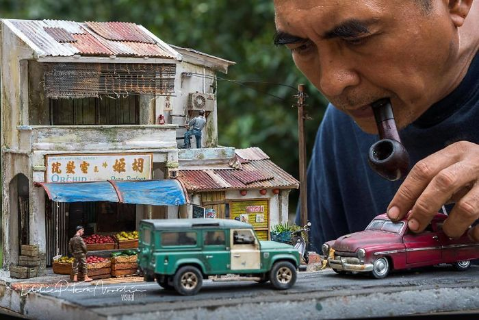 Artist Recreates People's Childhood Memories With Realistic