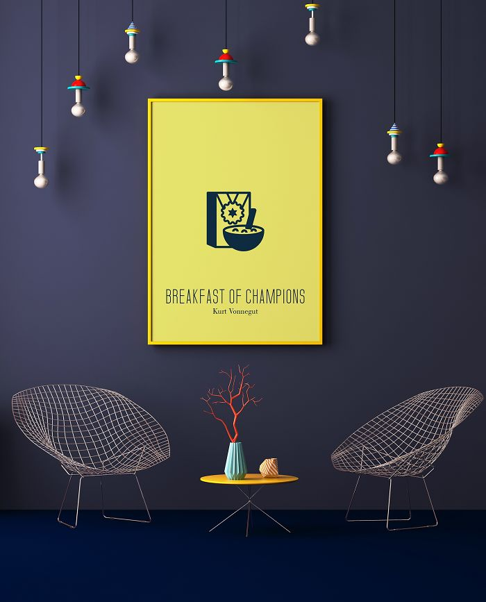 10 Mininalist Posters Of Famous Books