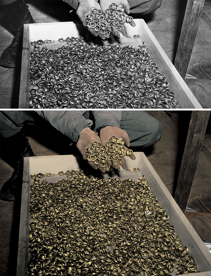 Wedding Bands Found During The Liberation Of Buchenwald Concentration Camp