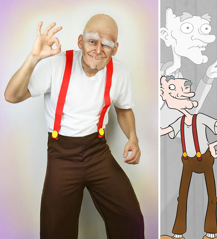 Grandpa Phil From Hey Arnold