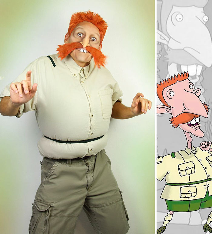 Nigel Thornberry From The Wild Thornberrys