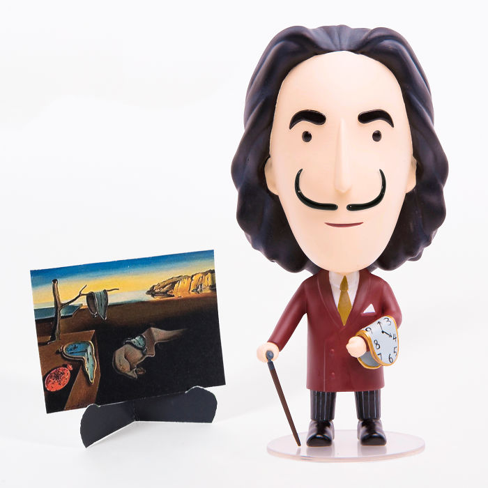 A Salvador Dalí Action Figure With Interchangeable Mustaches… Yes!