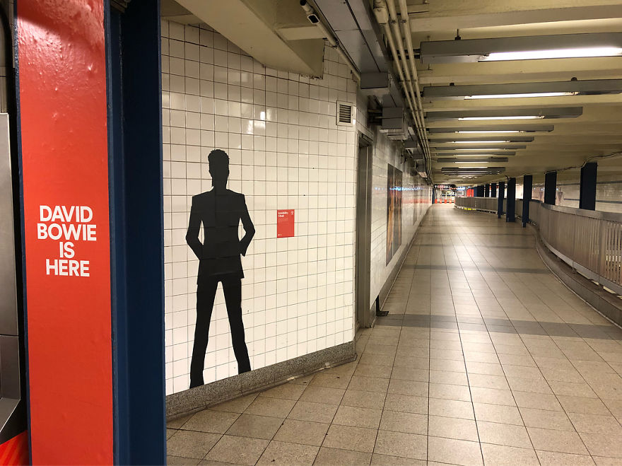 Amazing David Bowie Tribute Is Making New Yorkers Use