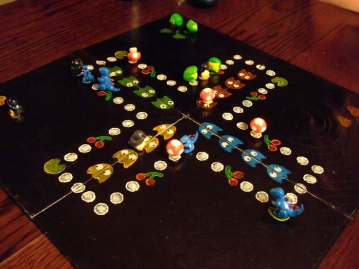 Also The Ludo Game I Made, Again A Present To My Sister (I Could Honestly Go On For Ages)