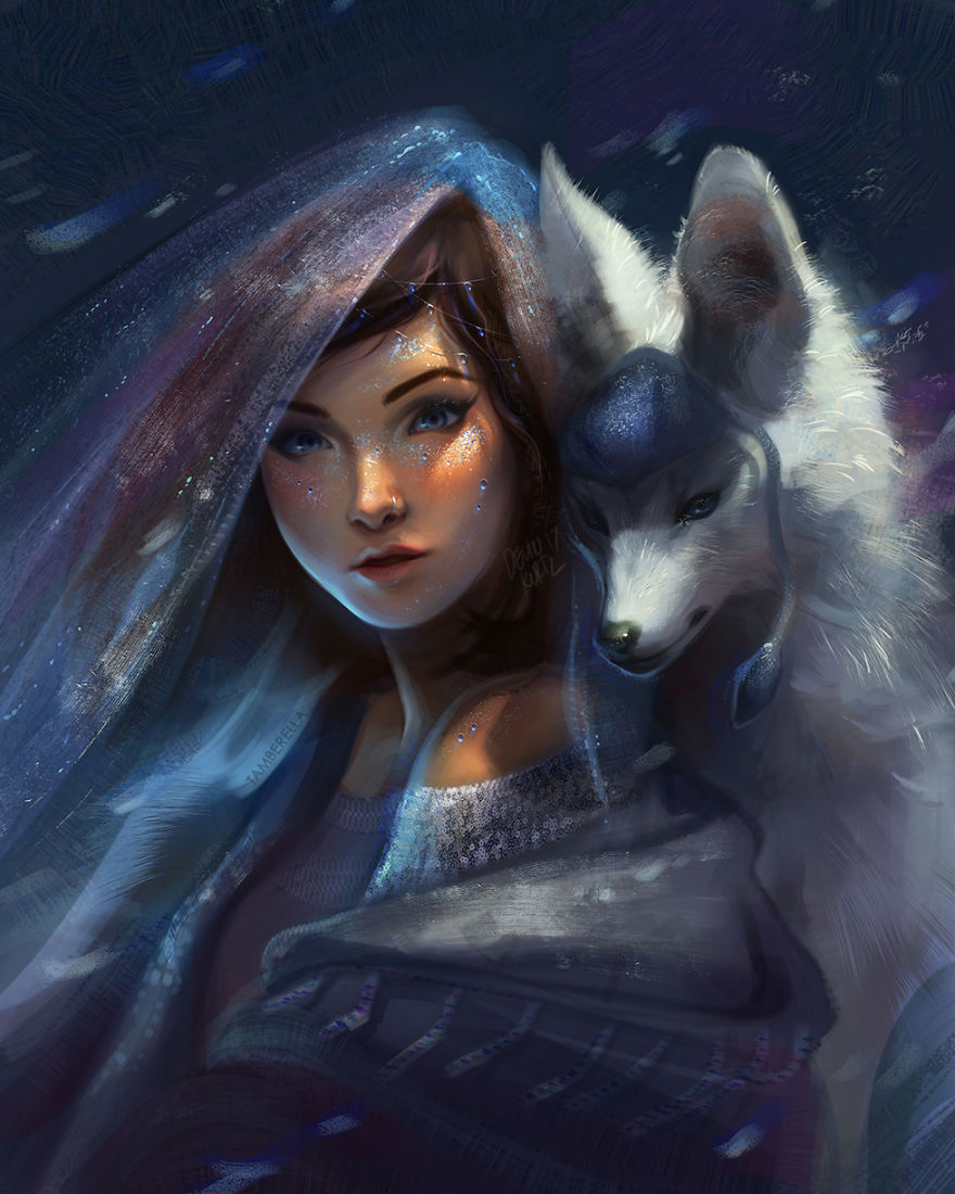Deviantart Drawings: These Fantasy Paintings Helped Me Cope With My Sickness