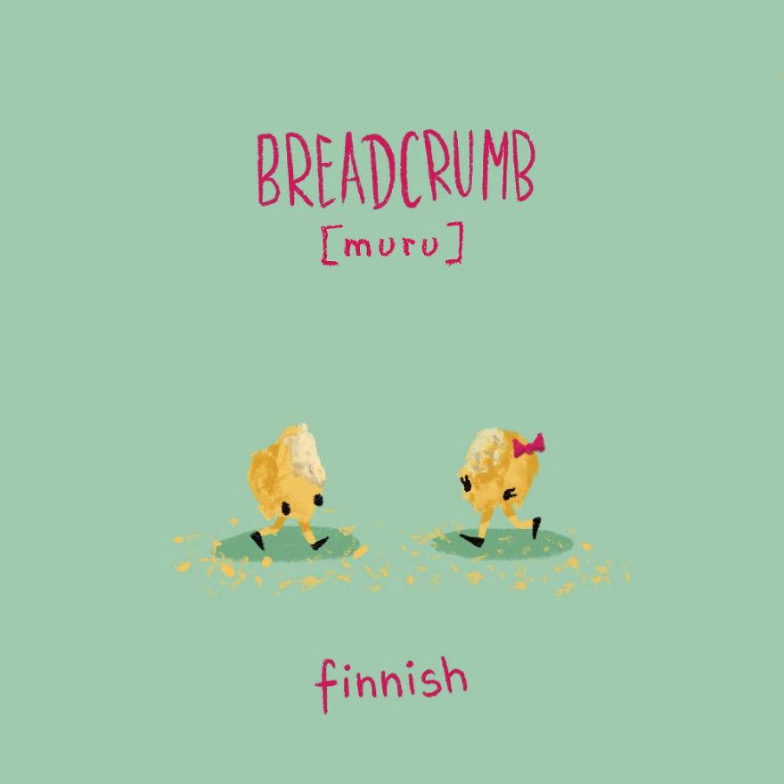 Breadcrumb - Finnish