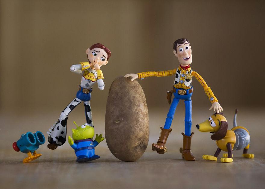 Potato Head? Buddyyyy?? Cat Got Your Tongue?...and Eyes, Nose And Ears? (I Really Need To Buy A Mr. Potato Head!)