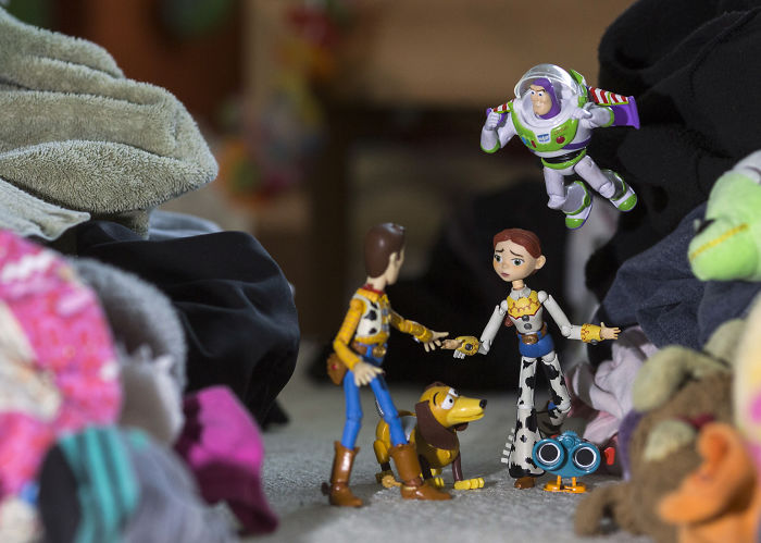 Come With Me If You Want To Live! (Taken On My Daughter's Messy Bedroom Floor)
