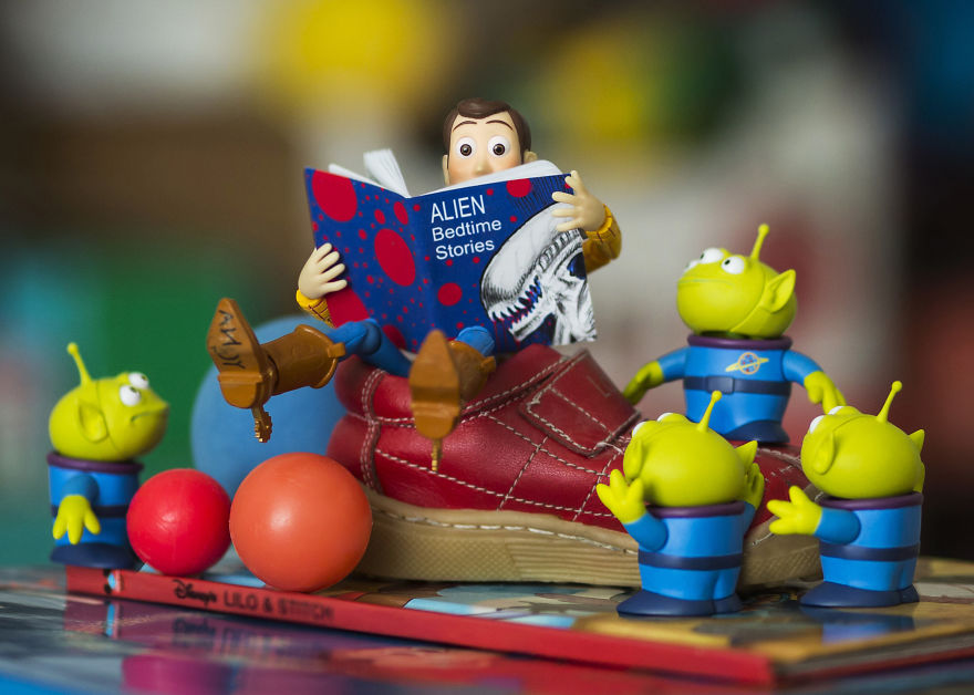 Alien Bedtime Stories (That Little Red Shoe Was My Daughter's Baby Shoe)