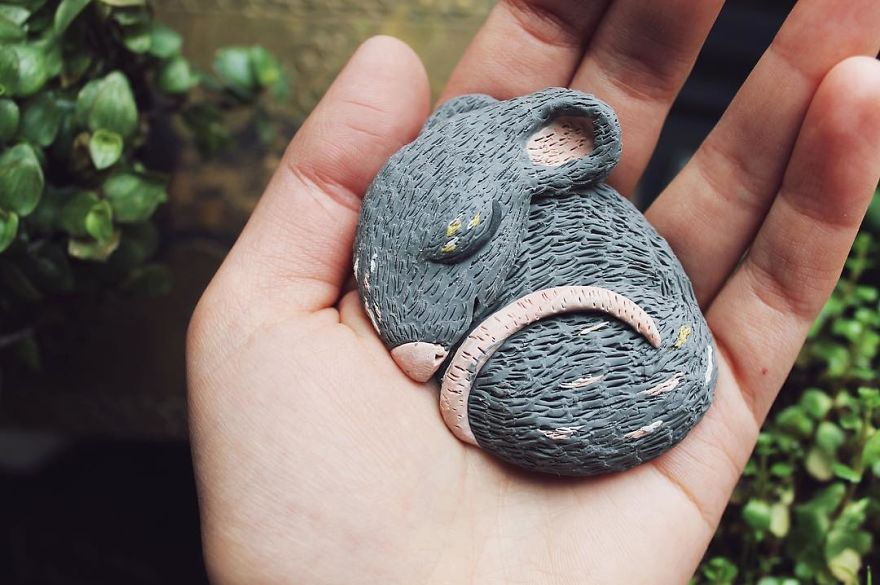 I Find Joy In Sculpting Charming Creatures Out Of Clay