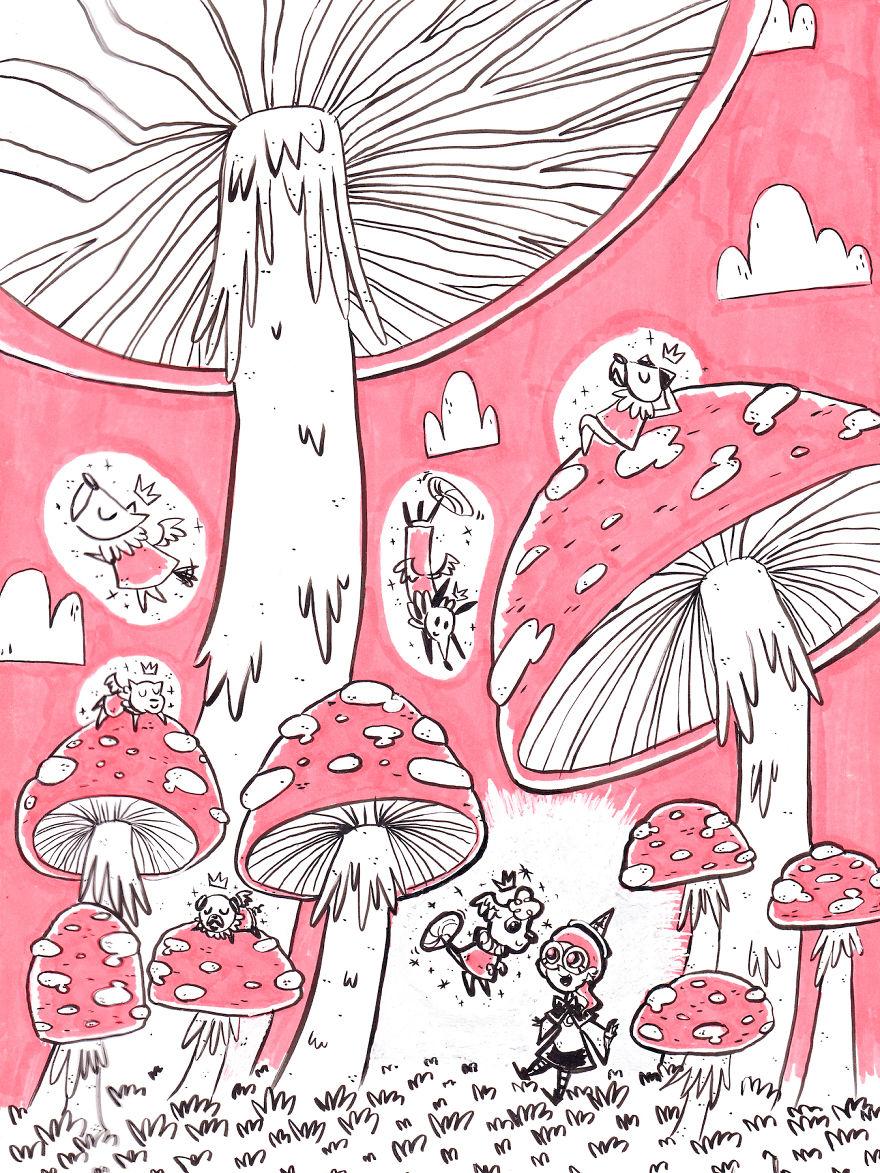 Fungi Fairy Forest