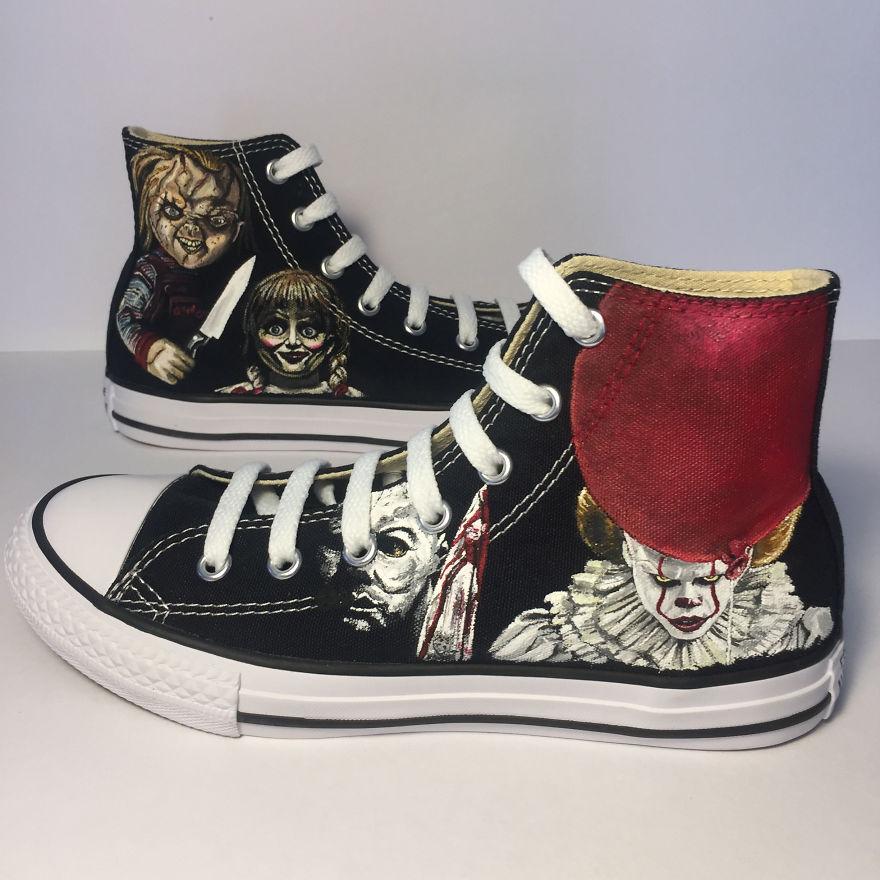===Mis zapatillas tienen vida=== I-was-commissioned-to-paint-these-horrorfying-shoes-for-a-young-horror-fan-5ac366843428c__880