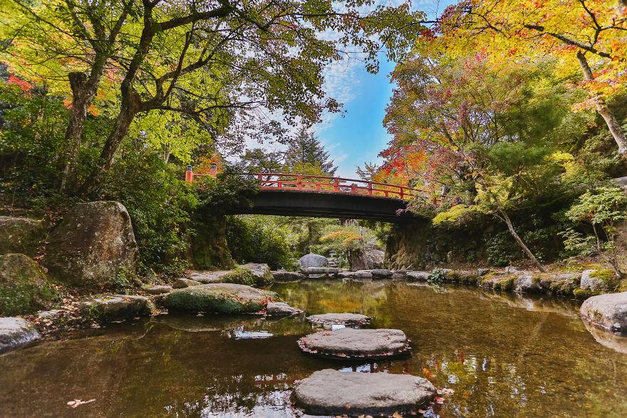 Momijidani In Autumn, Miyajima