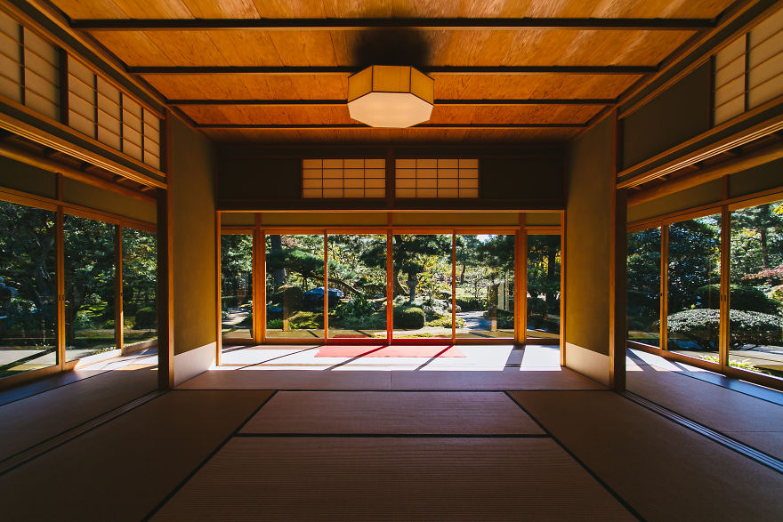 Teahouse In The Kenrokuen