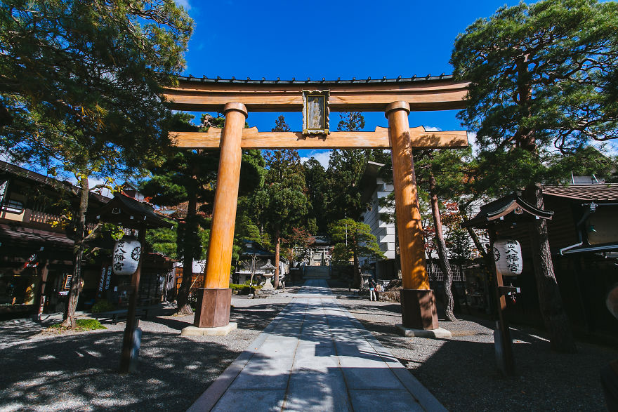 Hachiman Shrine, Takayama