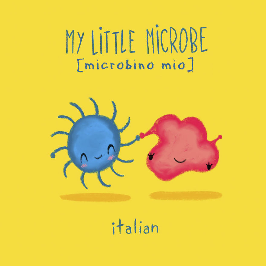 My Little Microbe - Italian