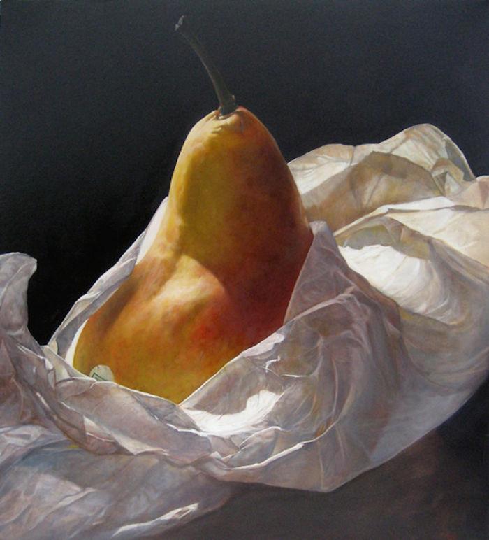Sensual Paintings Of Pears
