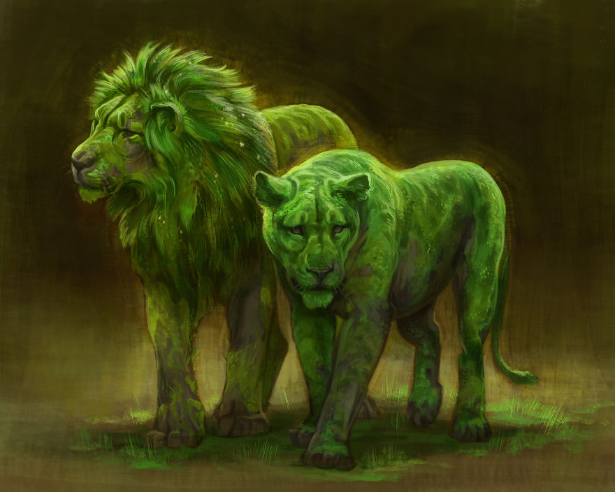 Fantasy Animal Paintings That Show The Real Magic In The World