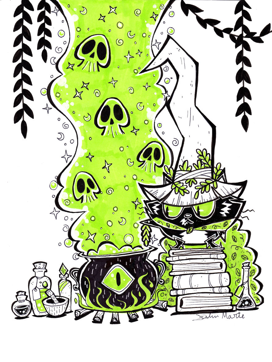 Mossy's Potions