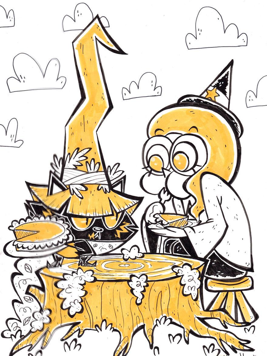 Get Your Hands Off My Pumpkin Pie!