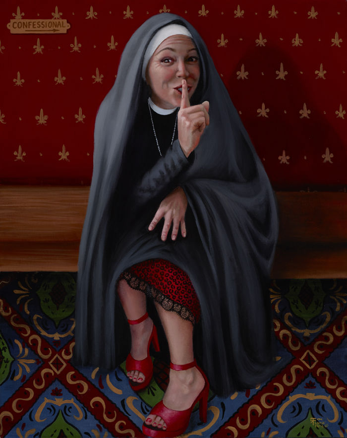 Sister Victoria Has A Secret