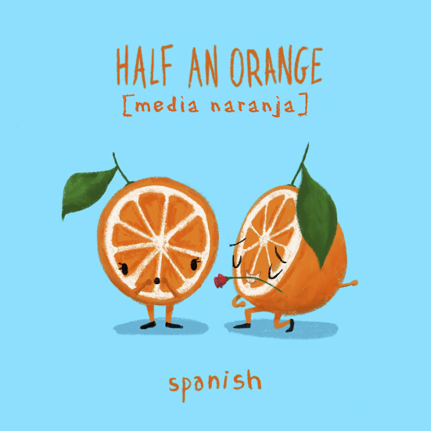 Half An Orange - Spanish