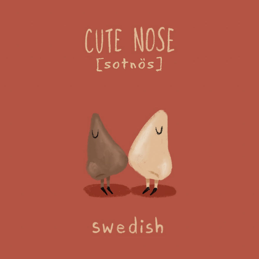 Cute Nose - Swedish