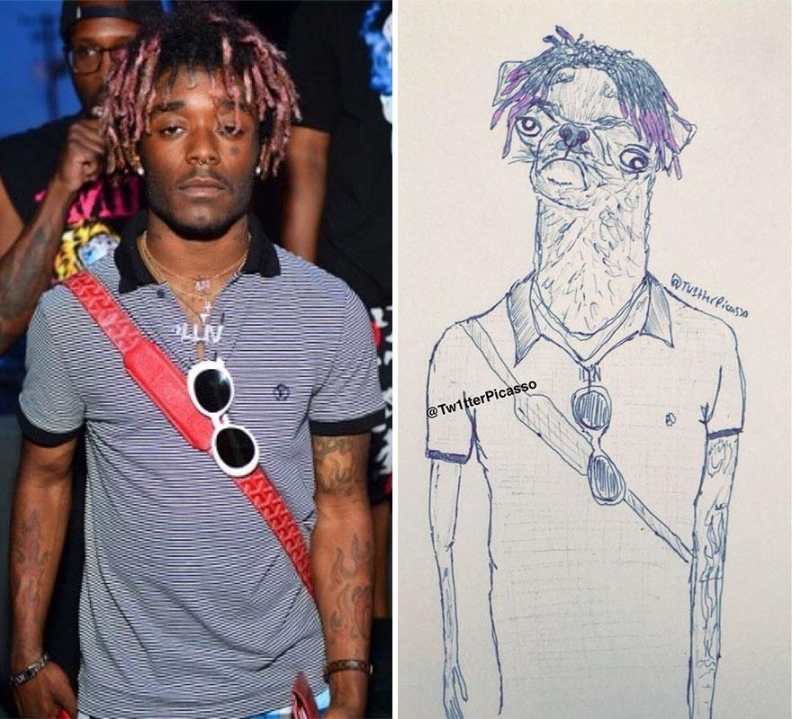 Lil Uzi Vert Fan Art