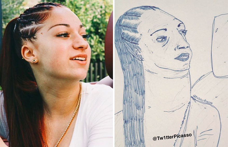 Bhad Bhabie Fan Art