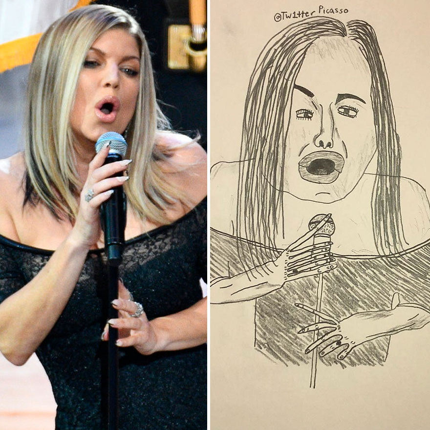 Fergie Fan Art