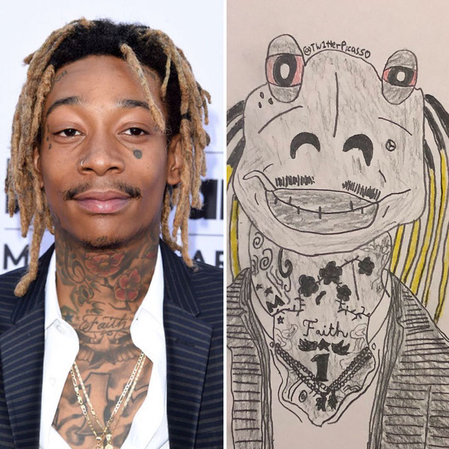 Wiz Khalifa Fan Art