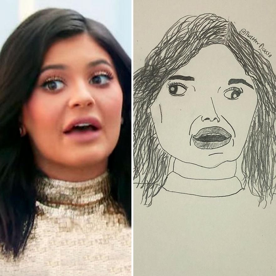 Kylie Jenner Fan Art