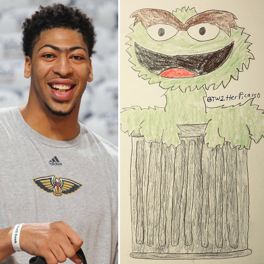 Anthony Davis Fan Art